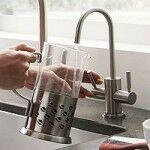 Csaptelep víztisztítóhoz, 2-utas, Modern dizájn