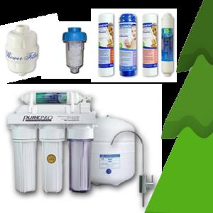 Ozmózis víztisztító ajándékcsomaggal és plusz szűrőbetétekkel
