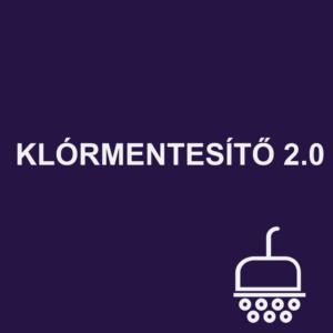 KLÓRMENTESÍTŐ 2.0 zuhanyzó víztisztító