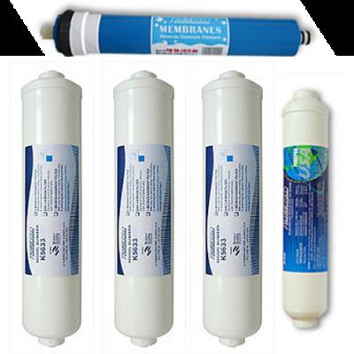 ozmózis víztisztító 2 éves cserebetétkészlet (M széria)