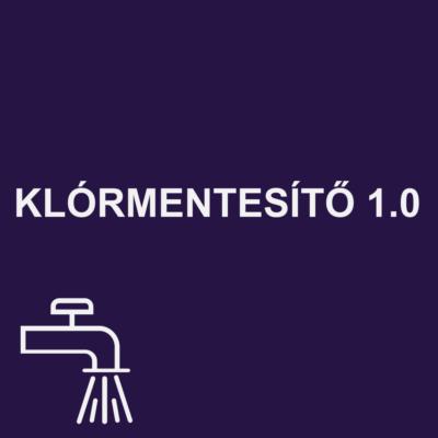 KLÓRMENTESÍTŐ 1.0 ivóvíztisztító
