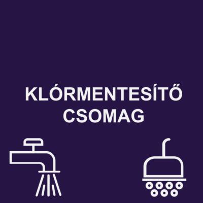 KLÓRMENTESÍTŐ CSOMAG