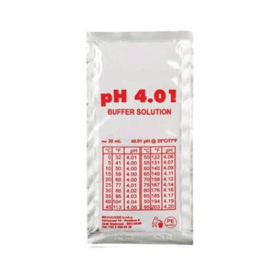 Kalibráló folyadék pH mérő műszerhez, pH 4,01