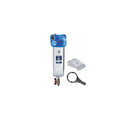 Aquafilter 3-részes szűrőház szett légtelenítővel, öblítőcsappal