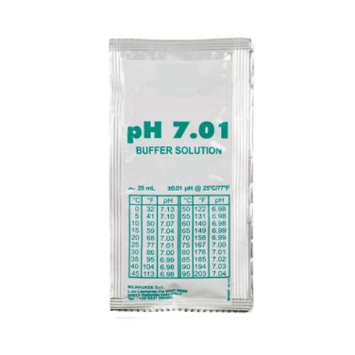 Kalibráló folyadék pH mérő műszerhez, pH 7,01
