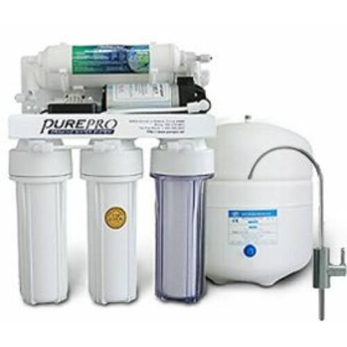 PurePro 105P ozmózis víztisztító nyomásrásegítő motorral 50GPD